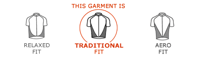 This garment is Traditional Fit