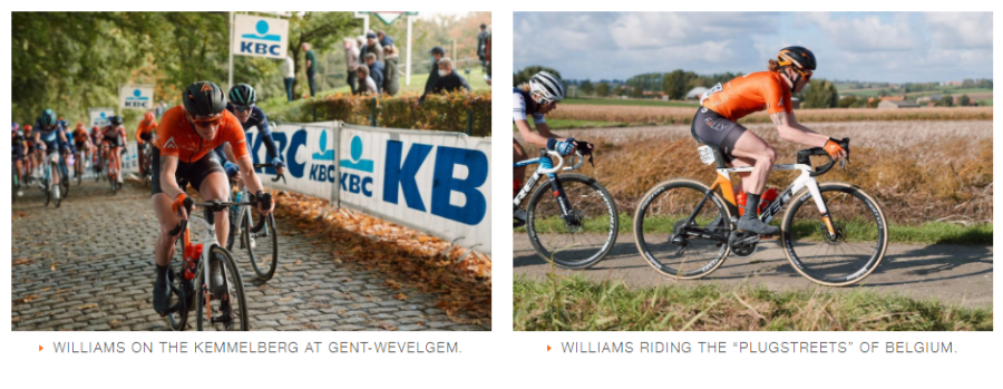 Lily Williams - Tour de Flanders - Rally Cycling