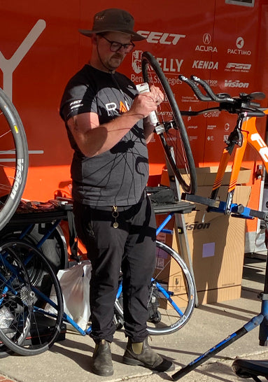 Rally Cycling Mechanic: Zane Freebairn