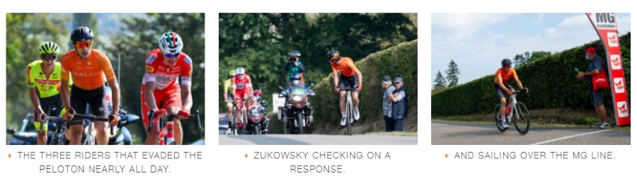 Nickolas Zukowsky at Paris Camembert - Rally Cycling