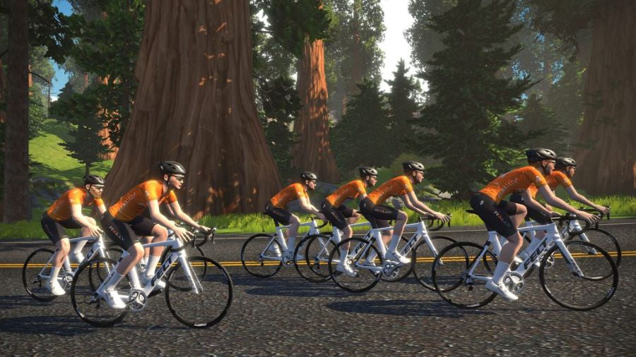 Rally Cycling on Zwift