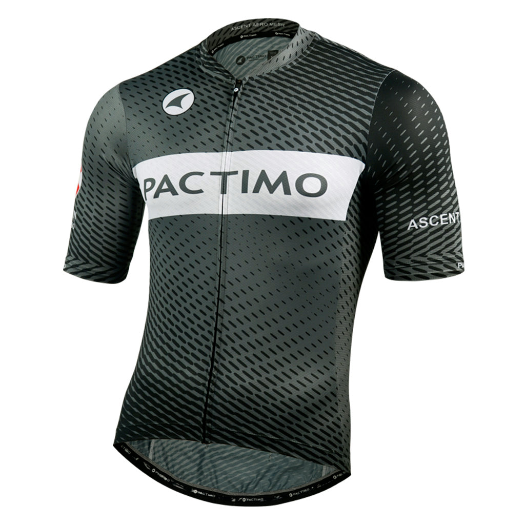 Ascent Aero Mesh Cycling Jersey for Men