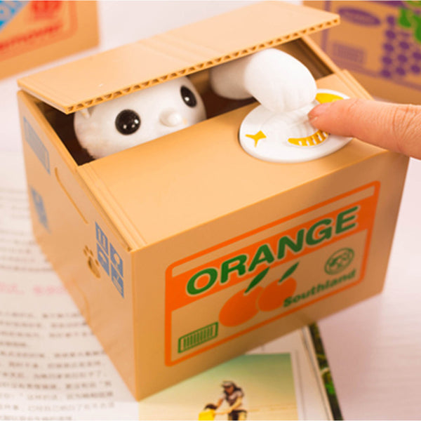 Novelty Cat Coin Bank