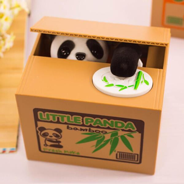 Novelty Panda Coin Bank