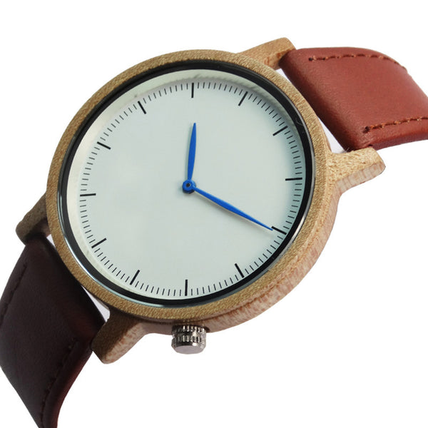 Natural Bamboo Wood Watch (Executive)