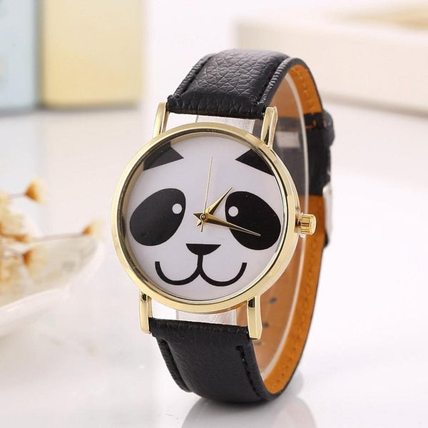 Bamboorama Panda Face Watch