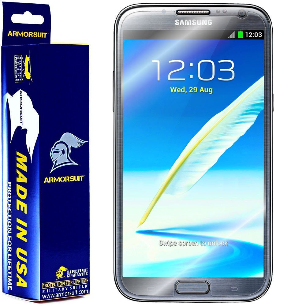 Samsung Galaxy Note II Screen Protector (Case Friendly)