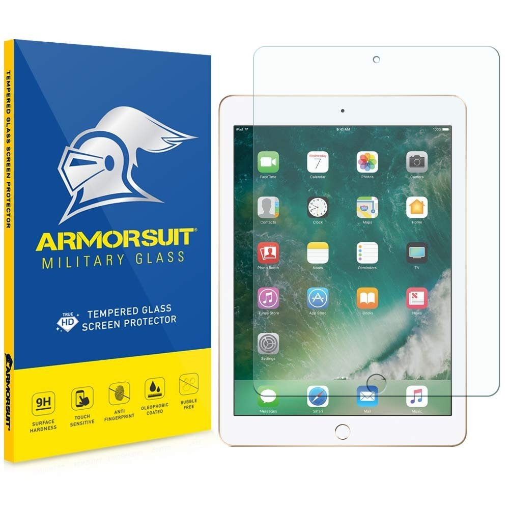 "Apple iPad Pro 12.9"" Tempered Glass Screen Protector (2017 & 2015)"
