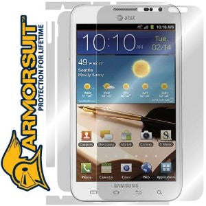 Samsung AT&T Galaxy Note Full Body Skin Protector