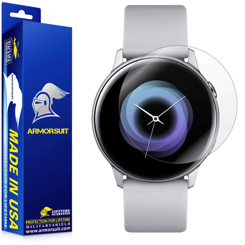 Galaxy Watch Active 1 and 2 (40mm) Screen Protector [6 Pack]