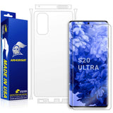 Samsung Galaxy S20 Ultra Full Body Skin Screen Protector
