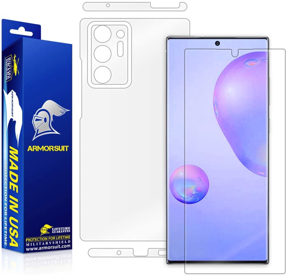 Samsung Galaxy Note 20 Ultra Full Body Skin Screen Protector