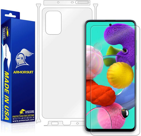 Samsung Galaxy A51 Full Body Skin Protector