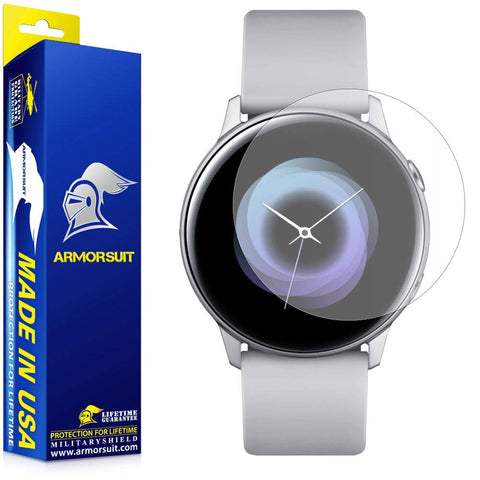 Galaxy Watch Active 1 and 2 (40mm) Matte Screen Protector [6 Pack]