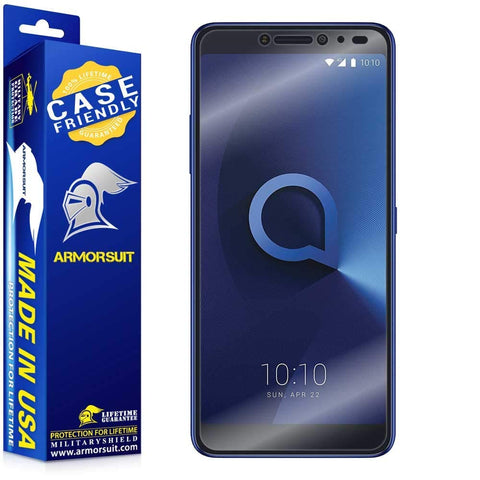 Alcatel 3V Case Friendly Screen Protector