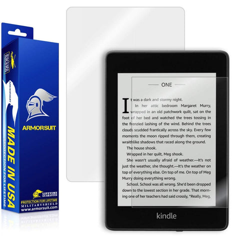 Amazon Kindle Paperwhite (2018) Screen Protector + Full Body Skin