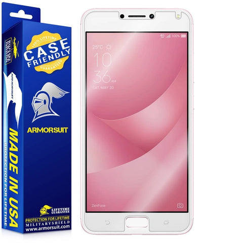 Asus Zenfone 4 Max Case Friendly Screen Protector
