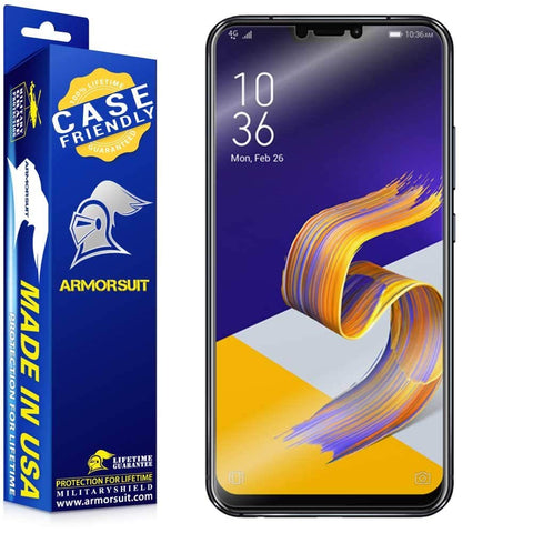 Asus Zenfone 5Z Case Friendly Screen Protector