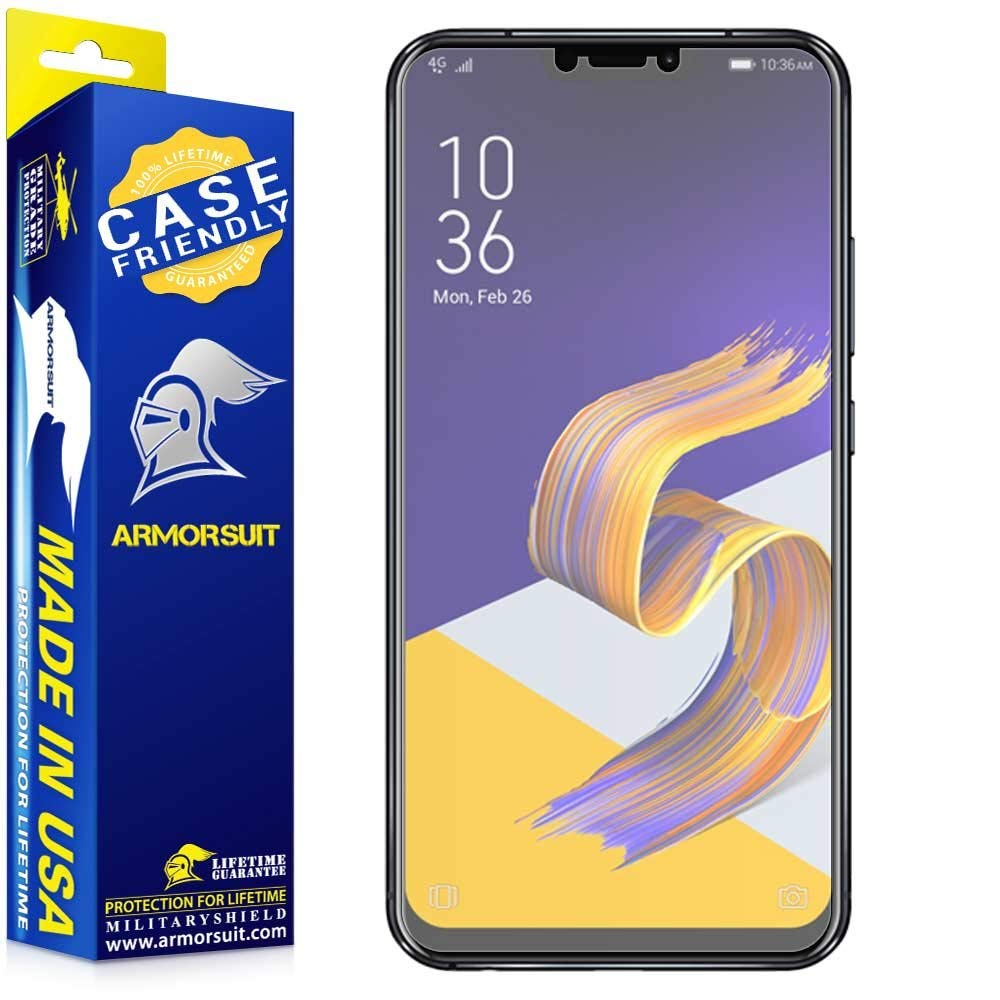 Asus Zenfone 5Z Matte Case Friendly Screen Protector