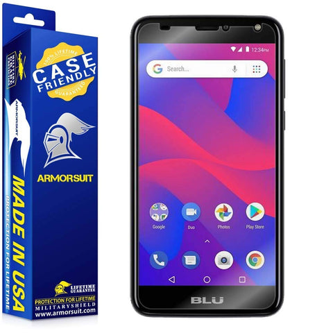BLU C6 Case-Friendly Screen Protector
