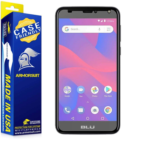 BLU C6 Matte Case Friendly Screen Protector