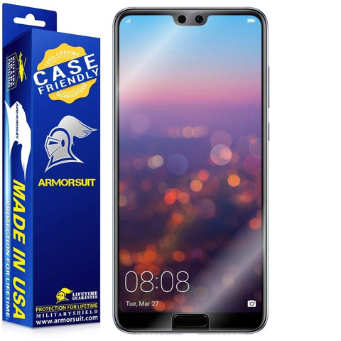 Huawei P20 Pro Case-Friendly Screen Protector