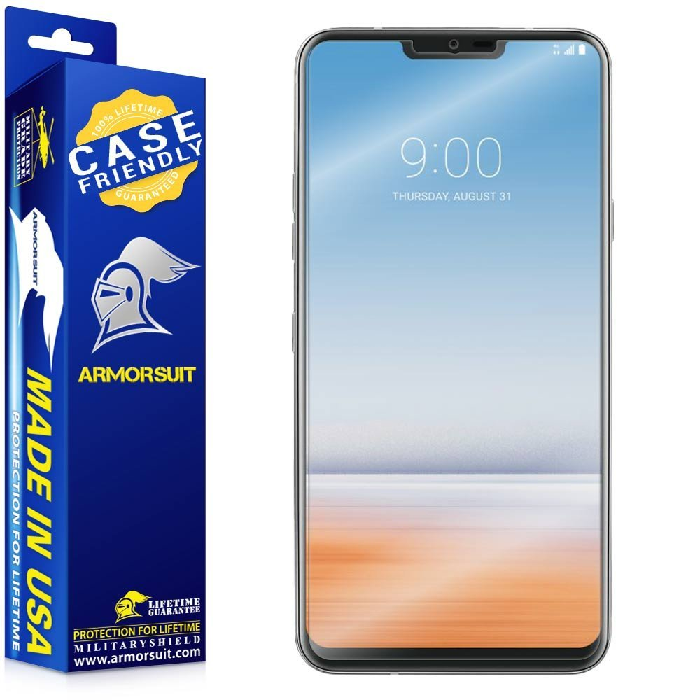 LG G7 Case-Friendly Screen Protector