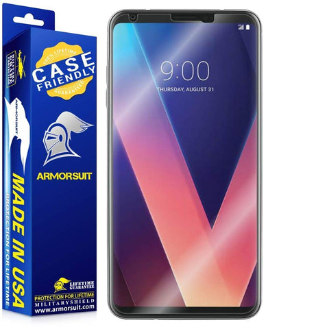 LG V30 Case-Friendly Screen Protector