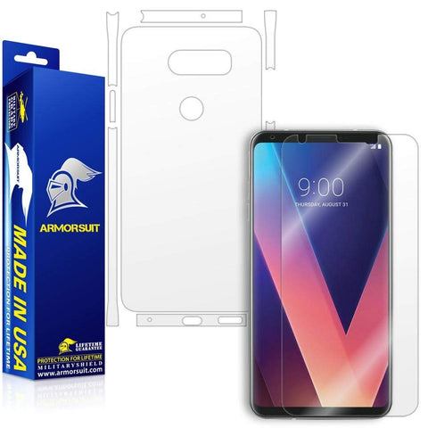 LG V30 Screen + Full Body Skin Protector