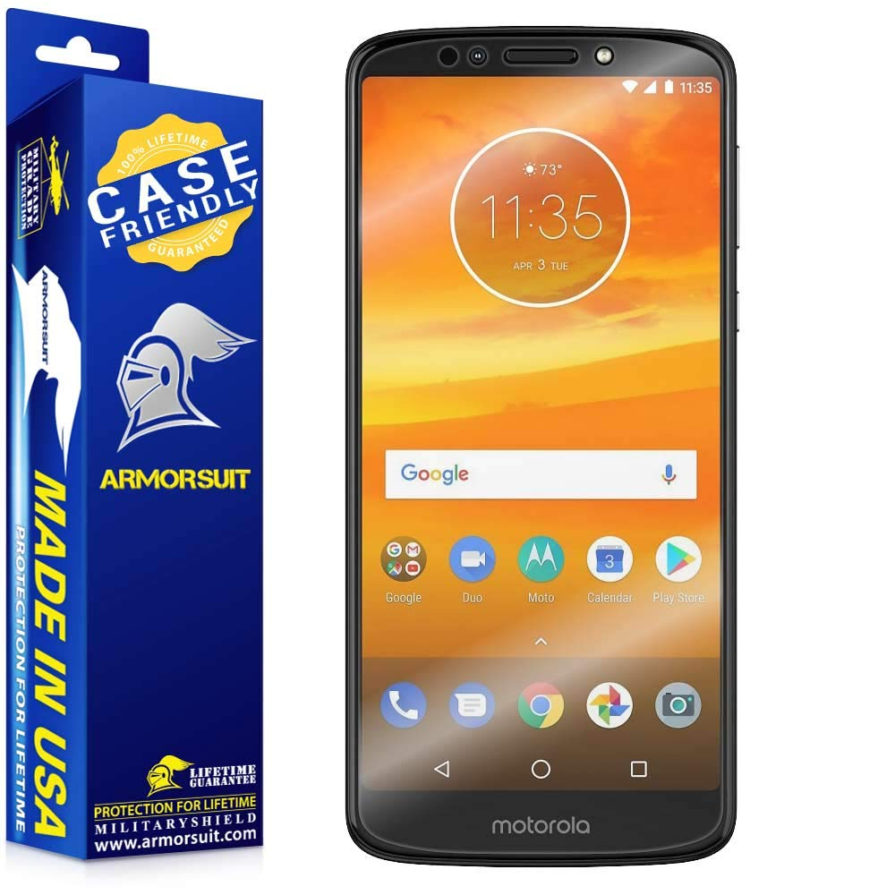 6f45ab21184d Motorola Moto E5 Plus E5 Supra Case Friendly Screen Protector ...
