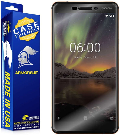 Nokia 6.1 Case-Friendly Screen Protector