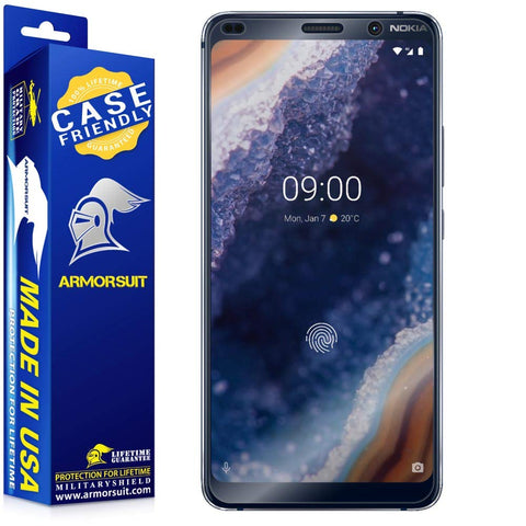 Nokia 9 Pureview Case-Friendly Screen Protector