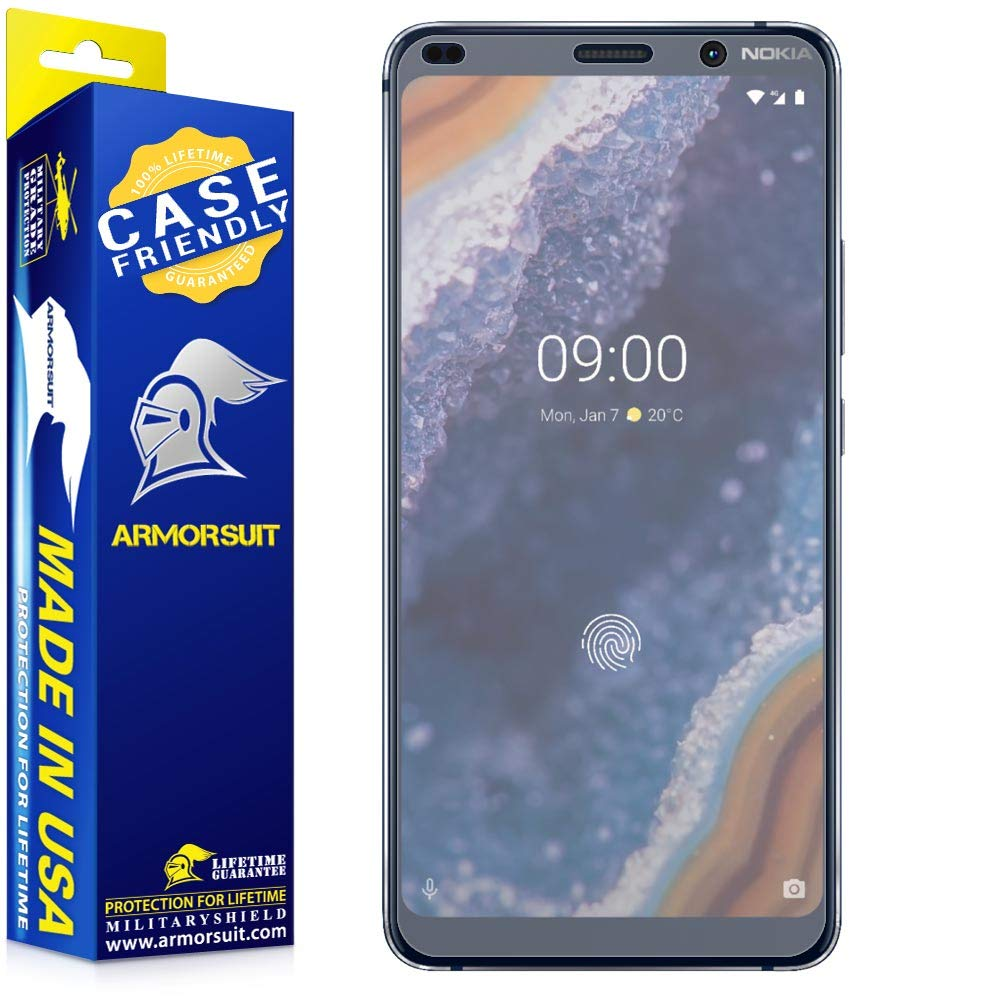 Nokia 9 Pureview Matte Case Friendly Screen Protector