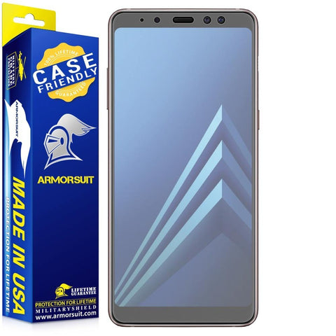 Samsung Galaxy A8 (2018) Matte Case Friendly Screen Protector