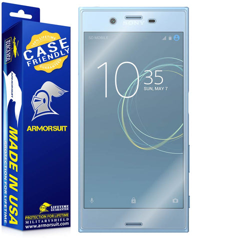 Sony Xperia XZ1 Case Friendly Screen Protector