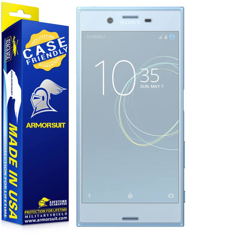 Sony Xperia XZ1 Matte Case Friendly Screen Protector