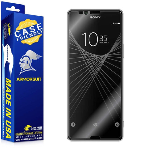 Sony Xperia X Ultra Case Friendly Screen Protector