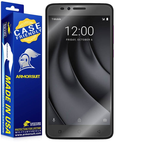 T-Mobile Revvl Plus Case Friendly Screen Protector