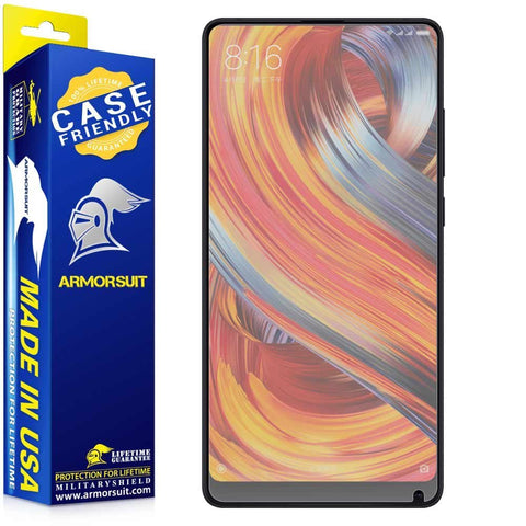 Xiaomi Mi Mix 2 Matte Case Friendly Screen Protector