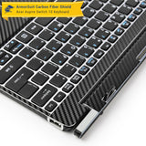 Acer Aspire Switch 10 (Model sw5-011) Keyboard Only - Black Carbon Fiber Film Protector