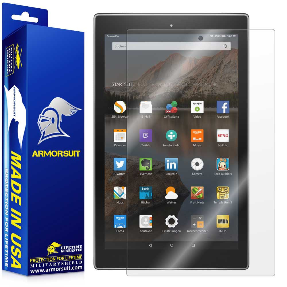 "Amazon Fire HD 10 Screen Protector (10.1"" - 2015 Edition)"