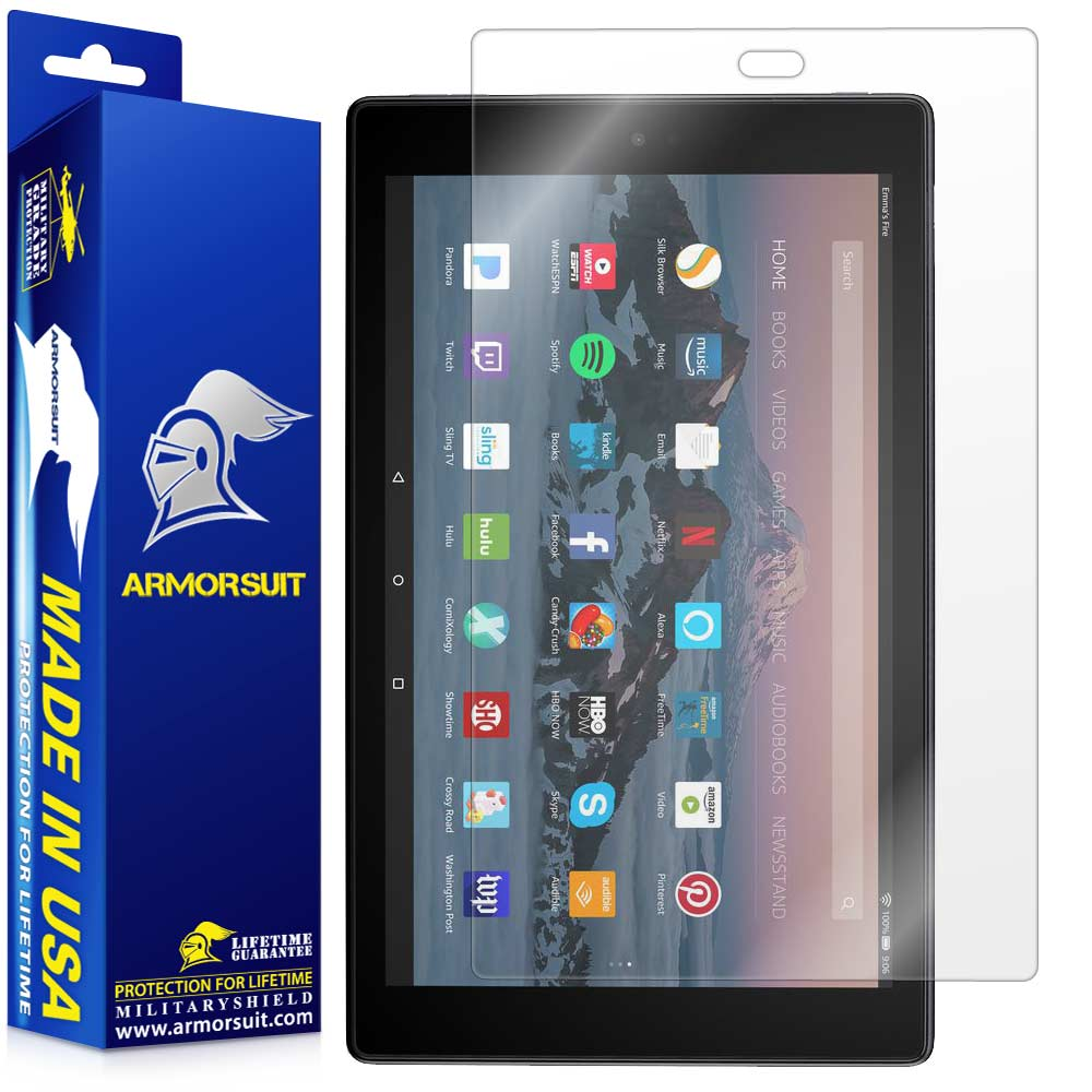 "Amazon Fire HD 10 Clear Screen Protector (10"" - 2017 Edition)"