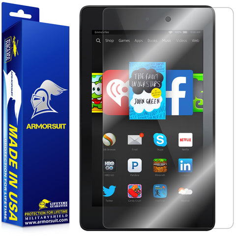 Amazon Fire HD 6 (2014) Screen Protector