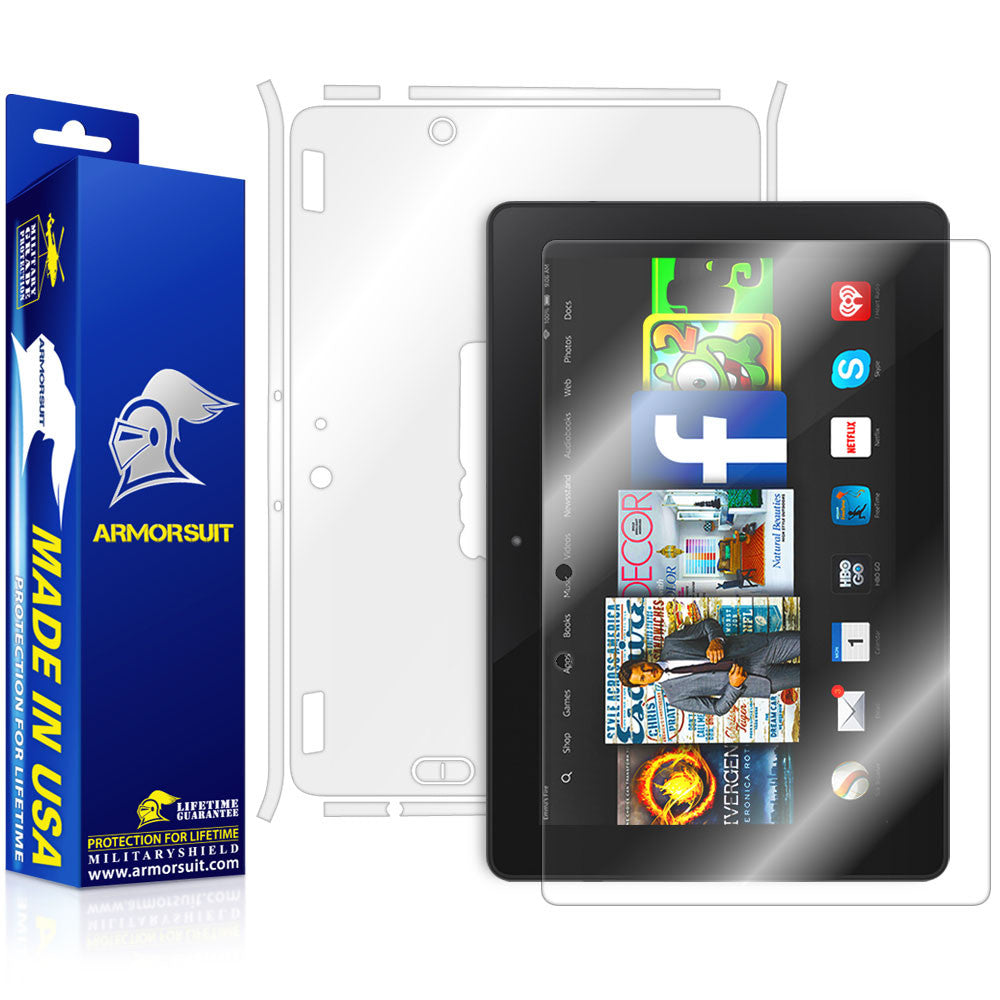 "Amazon Fire HDX 8.9"" (2014) / Kindle Fire HDX 8.9"" Screen Protector + Full Body Skin Protector"