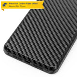 Amazon Fire Phone Screen Protector + Black Carbon Fiber Film Protector