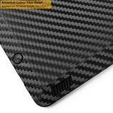 "Kindle Fire HDX 7"" Screen Protector + Black Carbon Fiber Film Protector"