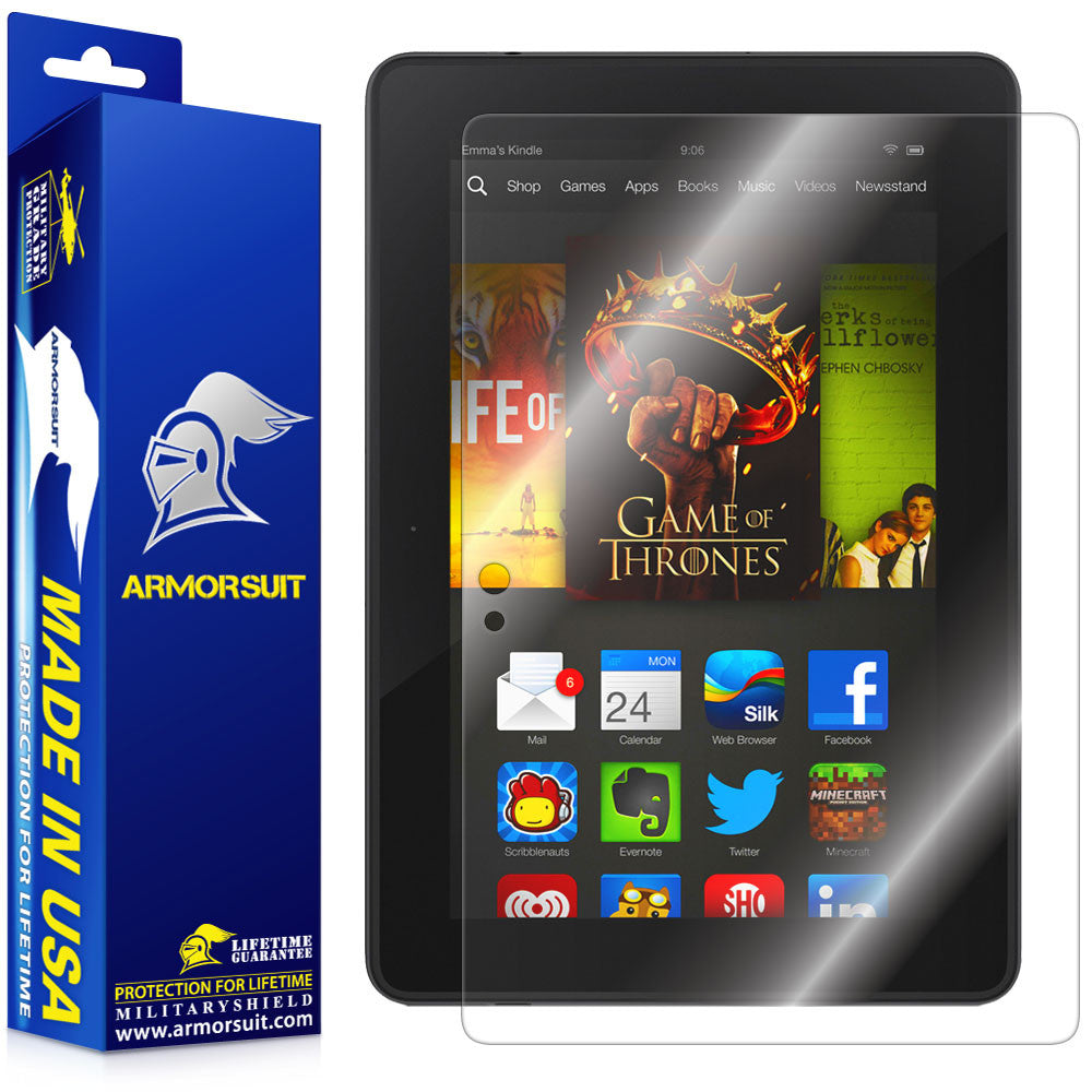 "Kindle Fire HDX 7"" Screen Protector (2013 Release)"