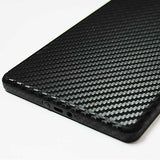 Kindle Fire Screen Protector + Black Carbon Fiber Skin Protector