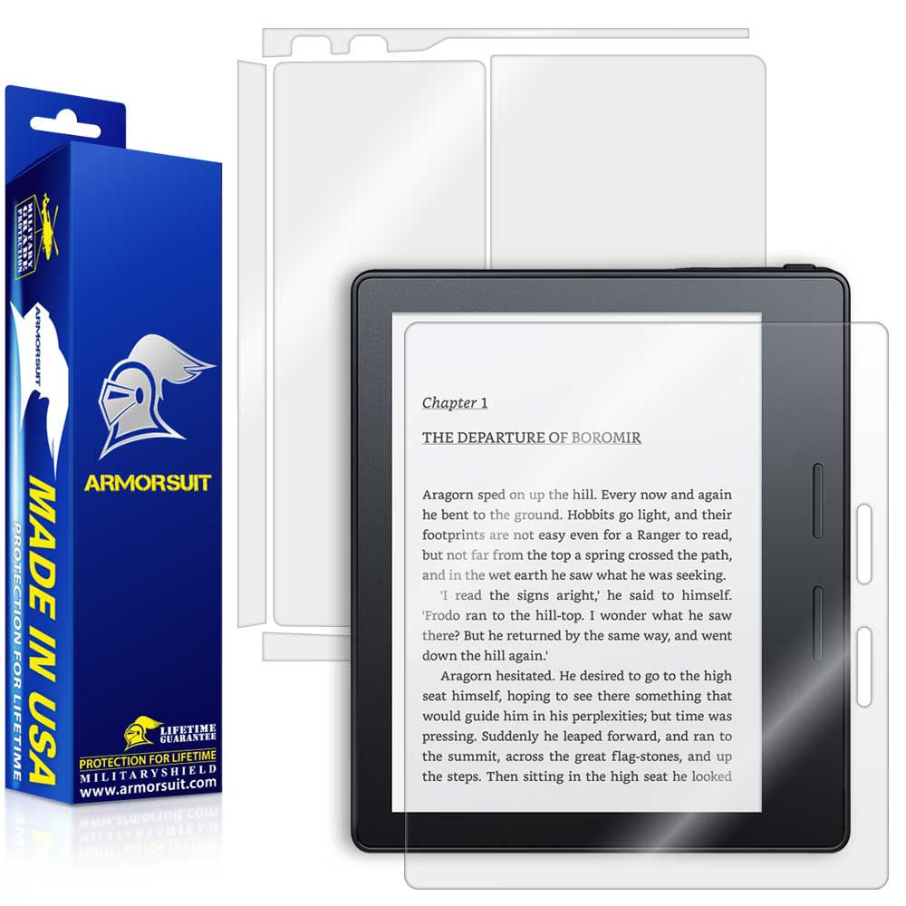 Amazon Kindle Oasis Screen Protector + Full Body