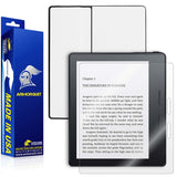 Amazon Kindle Oasis Screen Protector + White Carbon Fiber Skin
